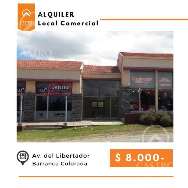 Foto Local en Alquiler en  Barranca Colorada,  Merlo  Av del Libertador - Local 6