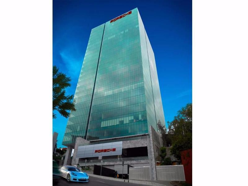 Foto Oficina en Renta en  Santa Fe Cuajimalpa,  Cuajimalpa de Morelos  SKG Asesores Inmobiliarios Renta Oficina en Torre Porsche Santa Fe
