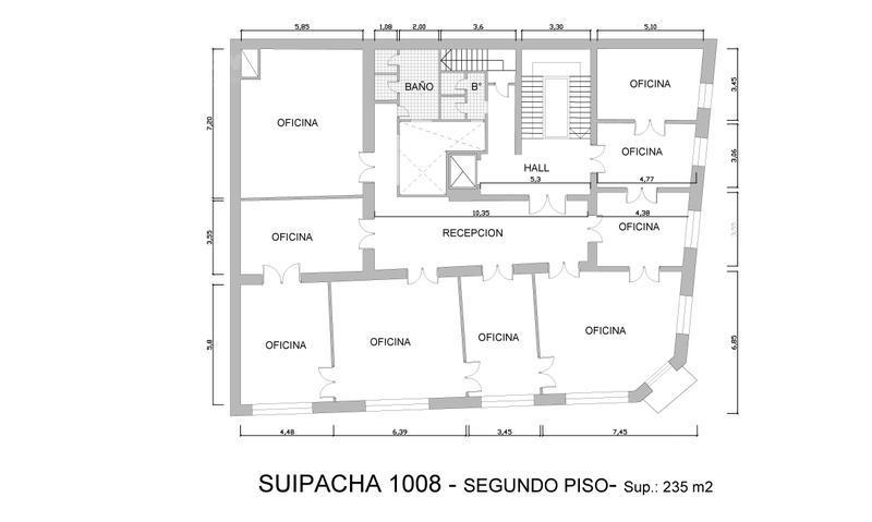 Foto Edificio Comercial en Alquiler en  Centro (Capital Federal) ,  Capital Federal  Suipacha 1000