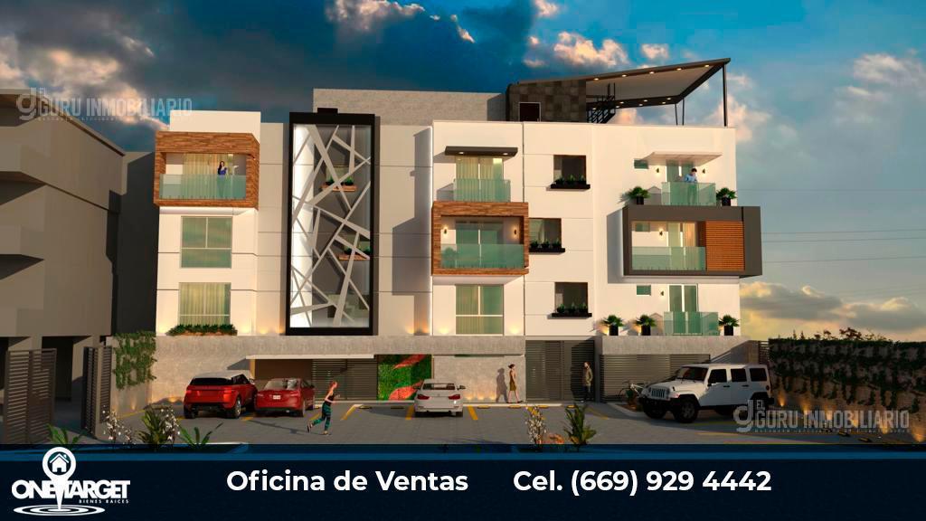 Foto Departamento en Venta en  Fraccionamiento Alameda,  Mazatlán  CONDOMINIOS EN VENTA CERCANOS A GRAN PLAZA ALAMEDA TOWN  MAZATLAN