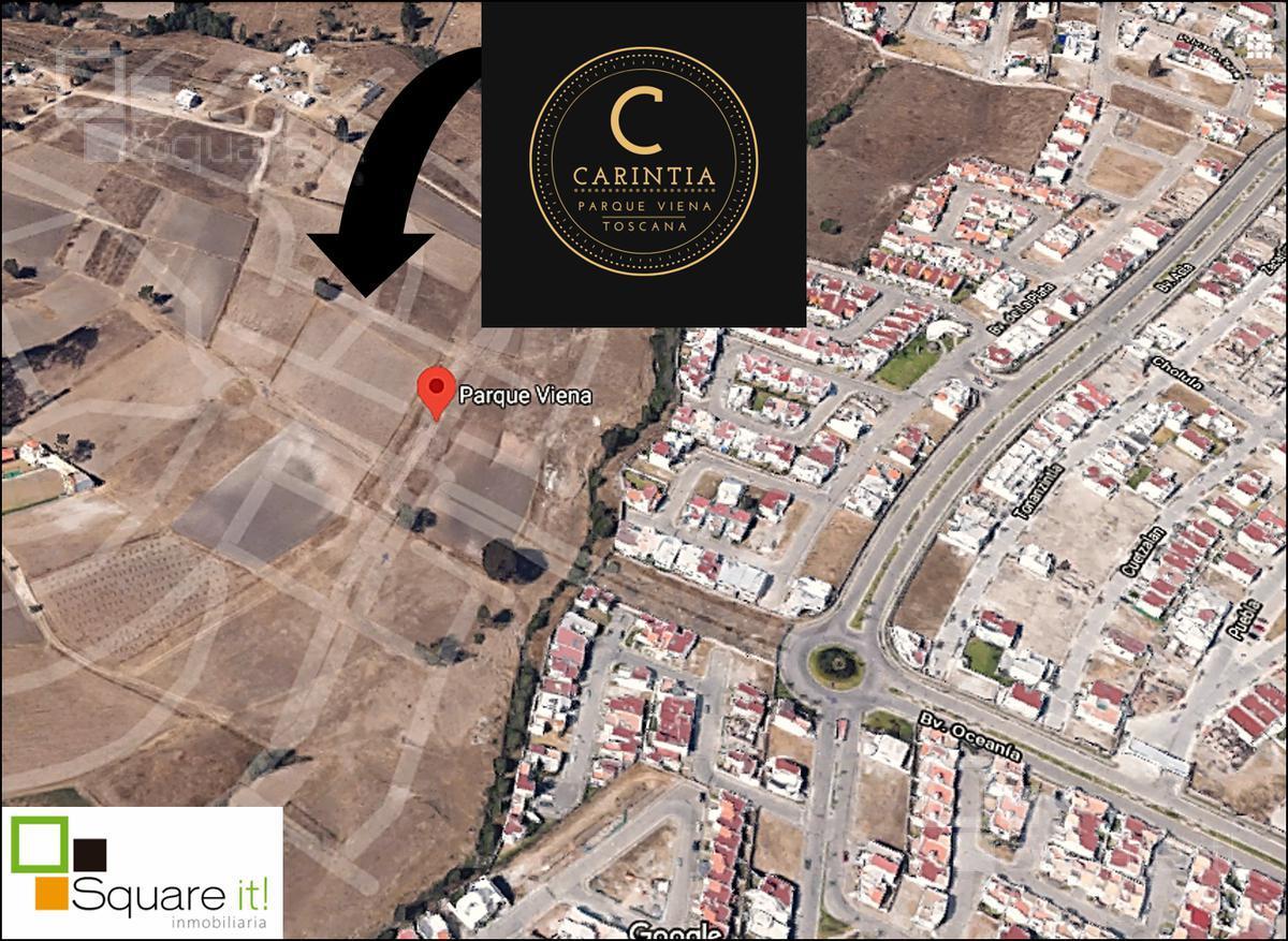 Foto Terreno en Venta en  Fraccionamiento Lomas de  Angelópolis,  San Andrés Cholula   Terrenos en Esquina Carintia 19, Toscana II, Lomas de Angelópolis II