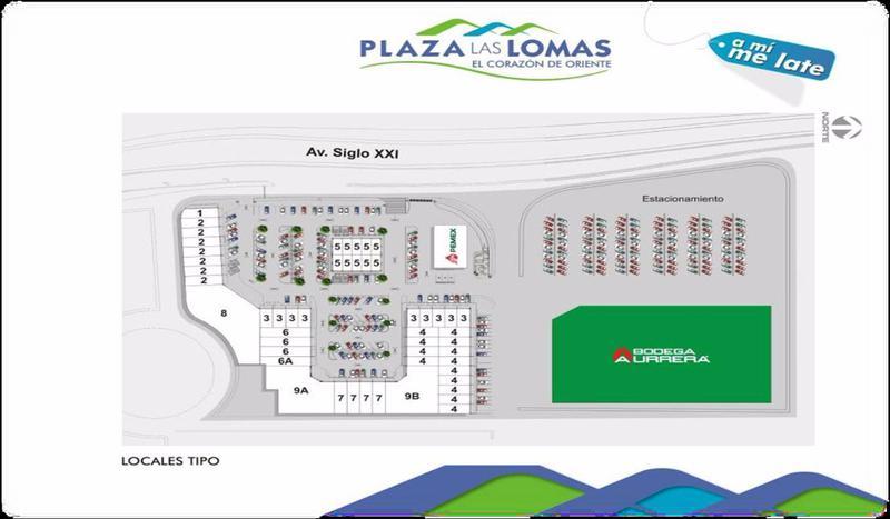 Foto Local en Renta en  Fraccionamiento Lomas de La Asunción,  Aguascalientes  M&C RENTA LOCAL PLAZA COMERCIAL EN LOMAS DE LA ASUNCIÓN EN AGS