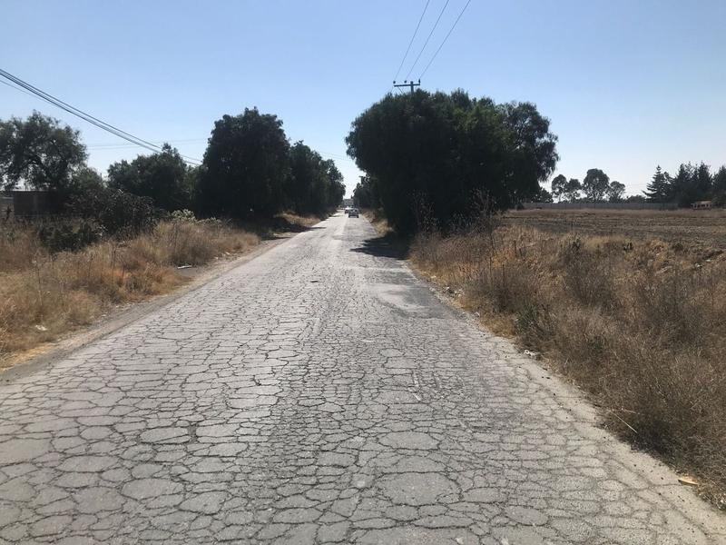 Foto Terreno en Venta en  Santa María la Calera,  Puebla  Terreno en carretera a Palma Gorda