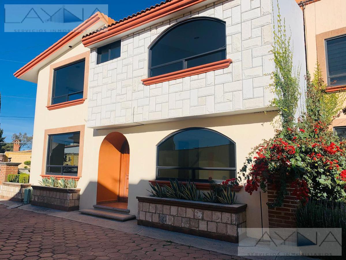 Foto Casa en Renta en  Pueblo Ocotlan,  Tlaxcala  Privada de las Huertas Lote No 5, Fraccionamiento San Antonio, Av. Ocotlán, Ocotlán, Tlaxcala, C.P 90100