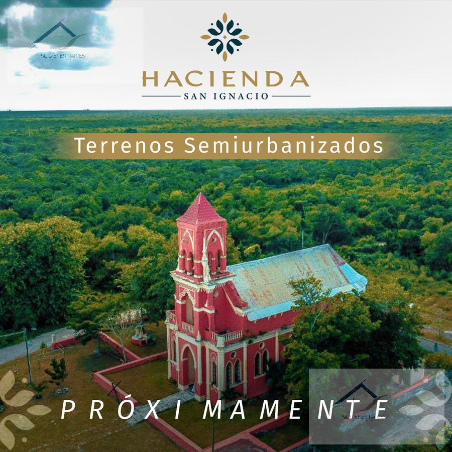 Foto Terreno en Venta en  Progreso ,  Yucatán  Lotes en venta Hacienda San Ignacio