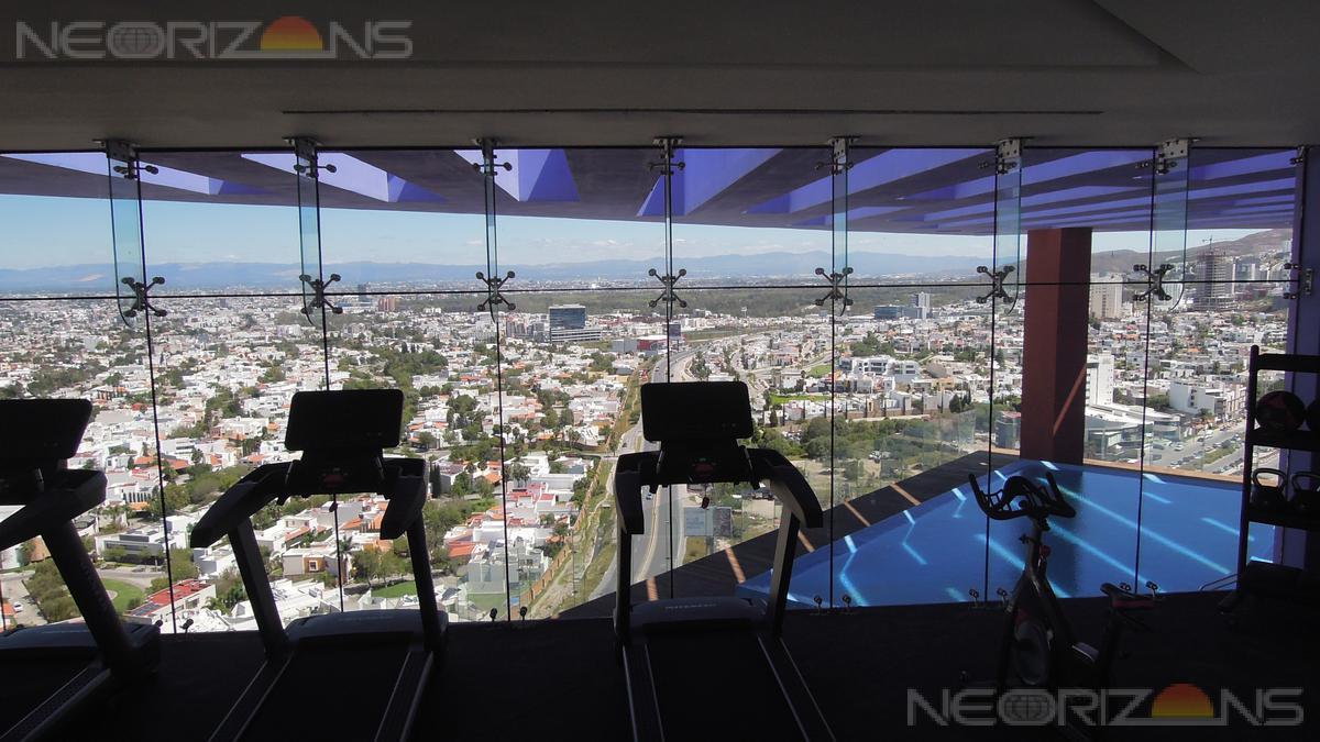 Foto Departamento en Renta en  Lomas del Tecnológico,  San Luis Potosí  Estilo Contemporáneo con Vista Panorámica Depto Nuevo en Renta  en Tangente 52 Lomas del Tec SLP