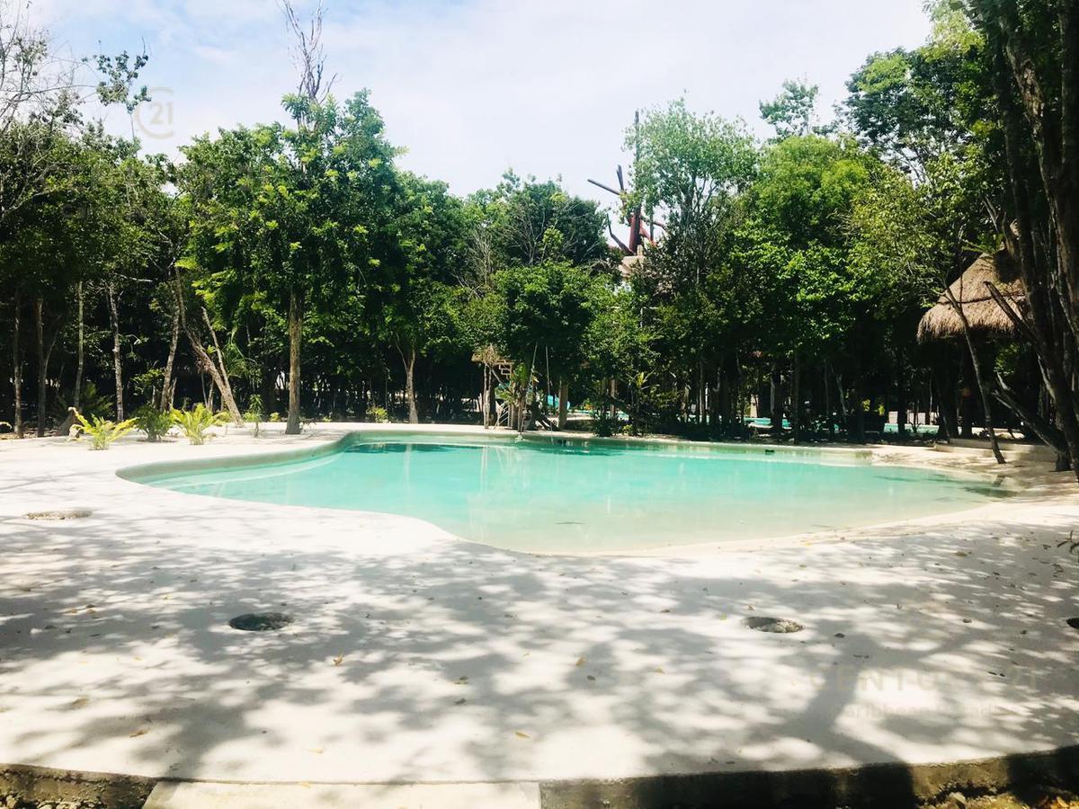 Foto Terreno en Venta en  Solidaridad ,  Quintana Roo  Venta terreno residencial 160 m2 en ALDEA K´IIN, Puerto Morelos P3299