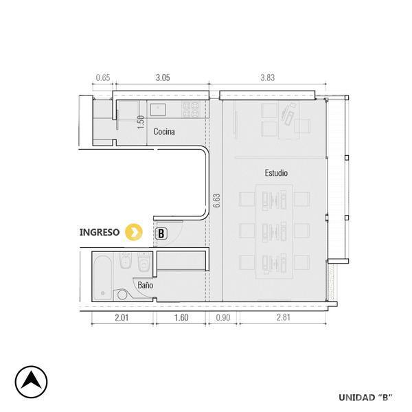Venta oficina Rosario, Centro. Cod CBU22390 AP2154489. Crestale Propiedades
