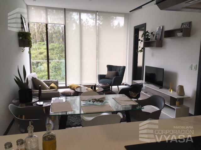 Foto Departamento en Alquiler en  Norte de Quito,  Quito  Jardines Del Batán - Exclusiva Suite Amoblada de 60,00 m2