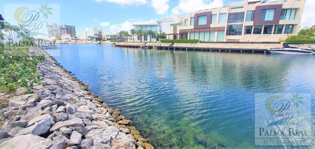 Foto Terreno en Venta en  Puerto Cancún,  Cancún  TERRENO EN CANAL DE PUERTO CANCUN