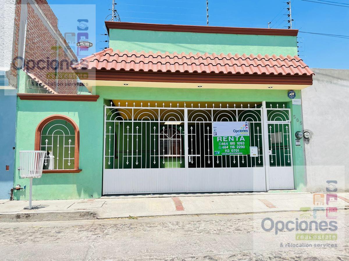 Foto Casa en Renta en  Fraccionamiento Bugambilias,  Salamanca  Bugambilias, Pedro Calderon de la Barca