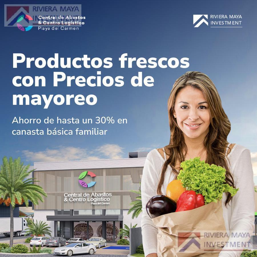Foto Local en Venta en  Solidaridad ,  Quintana Roo  Bodega Convencional