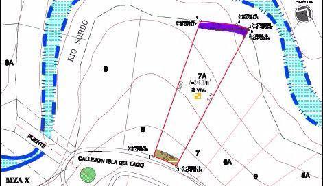 Foto Terreno en Venta en  Bosque Real,  Huixquilucan  Terreno en Venta en Isla del Lago en Bosque Real, Huixquilucan
