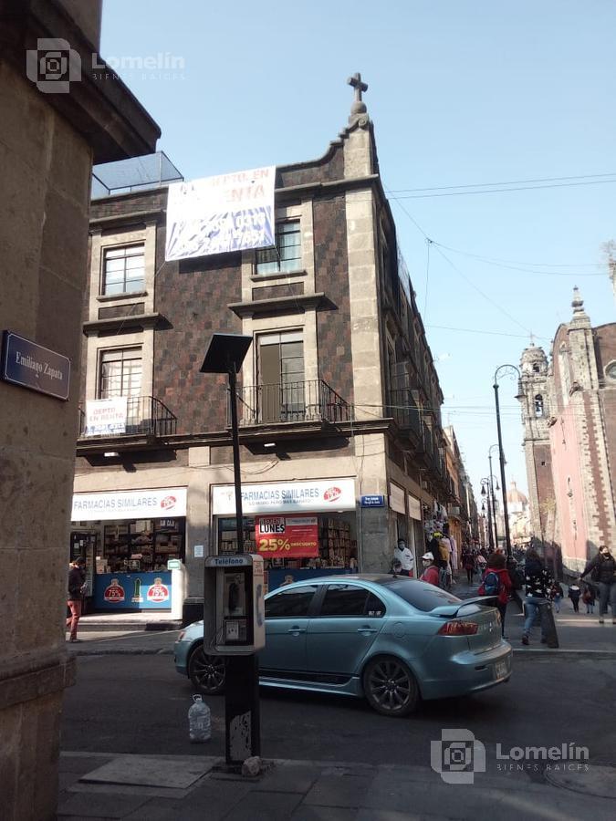 Foto Departamento en Renta en  Cuauhtemoc ,  Ciudad de Mexico  Emiliano Zapata #59-3, Colonia Centro,  Cuauhtemoc C.P.  06060