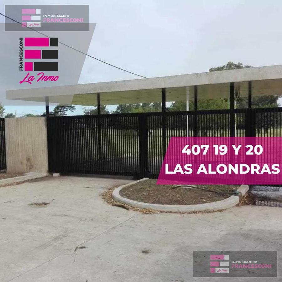 Foto Terreno en Venta en  Villa Elisa,  La Plata  407 19 y 21 Las Alondras