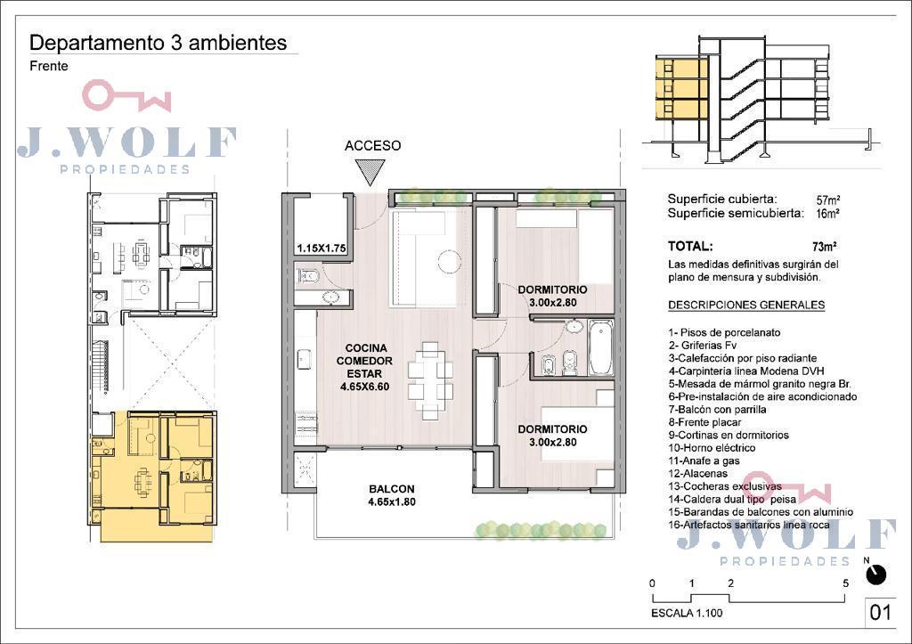 Foto Departamento en Venta en  S.Martin(Ctro),  General San Martin  Felix Ballester Nº al 2500