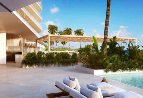Foto Departamento en Venta en  Puerto Cancún,  Cancún   SLS MARINA BEACH CANCUN, Departamento en Venta 4 recámaras