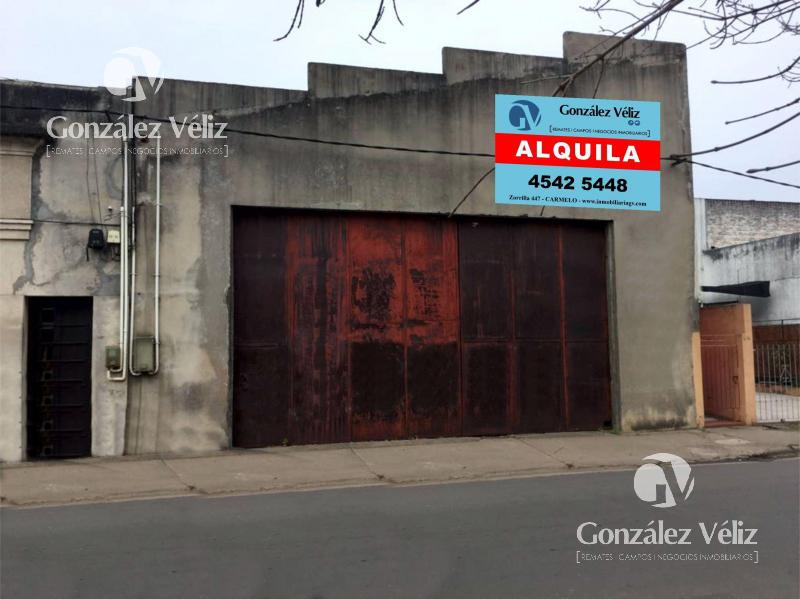 Foto Depósito en Alquiler en  Carmelo ,  Colonia  Zorrilla casi Buenos Aires