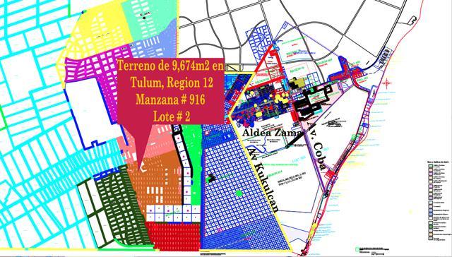 Foto Terreno en Venta en  Tulum ,  Quintana Roo  Terreno Residencial Tulum Region 12 Venta