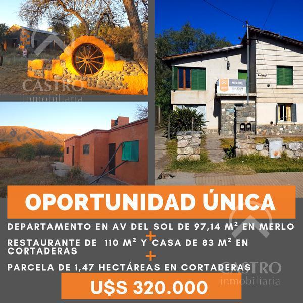 Foto Casa en Venta en  Centro,  Merlo  Av del sol al 500