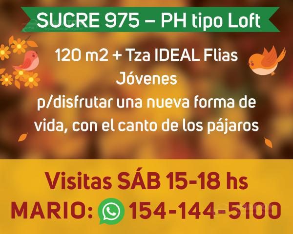 Foto Departamento en Venta en  Nuñez ,  Capital Federal  Sucre al 900