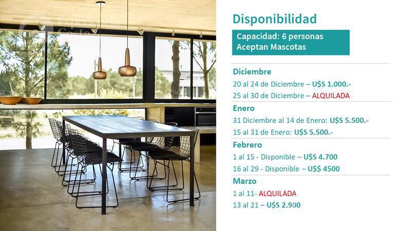 Foto Casa en Alquiler temporario en  Barrio Costa Esmeralda,  Pinamar  Casa al Mar - lote 26
