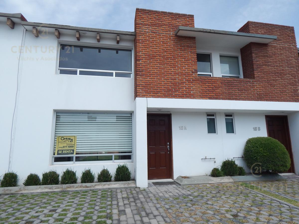 Foto Casa en condominio en Renta en  Calimaya,  Calimaya  Bonita casa en Bosque de Las Fuentes