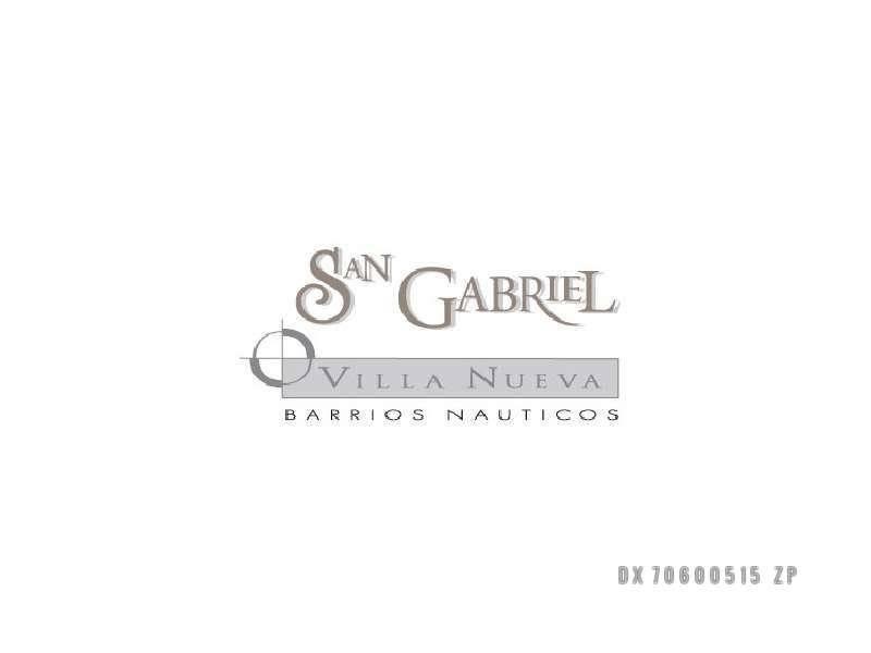 Foto Terreno en Venta en  San Gabriel,  Villanueva  Vn-san Gabriel al 124