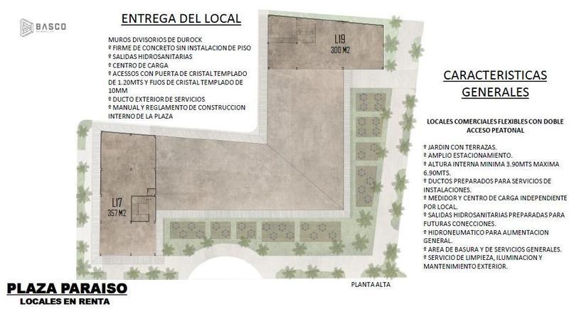 Foto Local en Renta en  Fraccionamiento Las Américas,  Mérida  Locales en renta en Plaza Paraíso, Zona Norte de Mérida