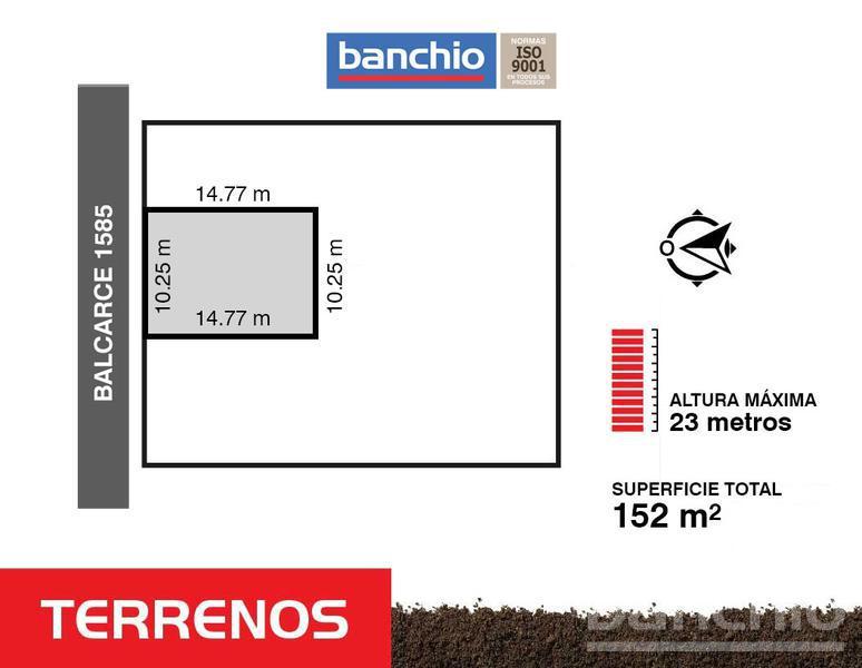 Balcarce al 1500, Centro, Santa Fe. Venta de Terrenos - Banchio Propiedades. Inmobiliaria en Rosario