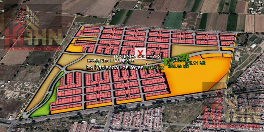 Foto Terreno en Venta en  Hacienda los Reyes,  Chicoloapan  HACIENDA LOS REYES, TERRENO CONJUNTO HABITACIOAL, VENTA, CHICOLOAPAN, ESTADO DE MEXICO.