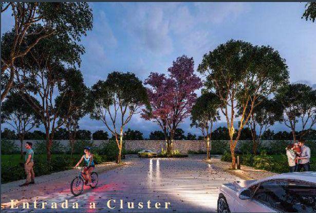 Foto Terreno en Venta en  Conkal ,  Yucatán  Lotes en venta al Norte de Mérida en exclusiva privada Zendera