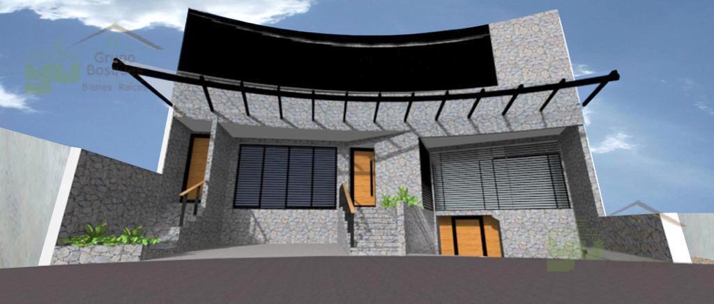 Foto Casa en Venta en  Bosque Real,  Huixquilucan  En venta casa en obra blanca con 4 recamaras