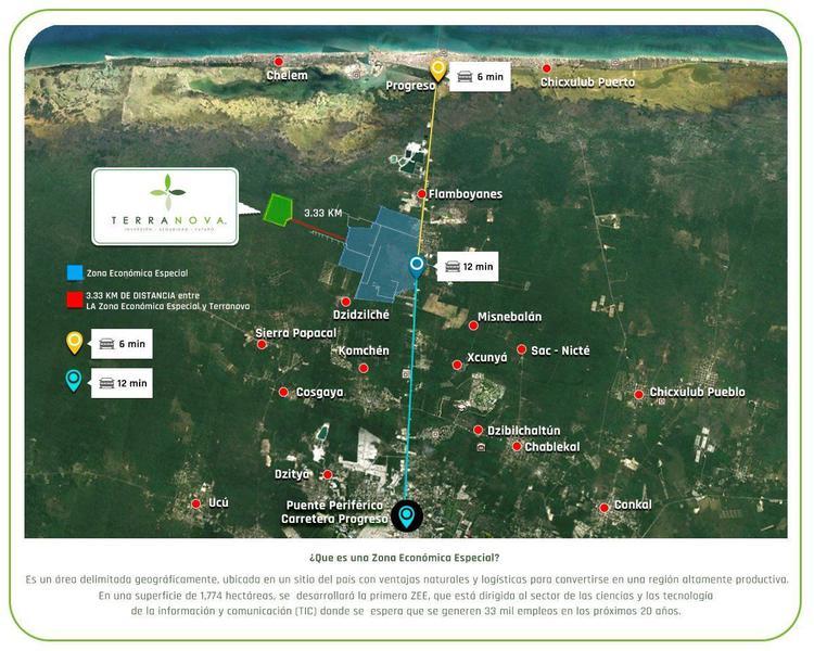 Foto Terreno en Venta en  Pueblo San Ignacio,  Progreso  TERRANOVA terrenos de inversiòn, PROPIEDAD PRIVADA. última etapa¡¡¡