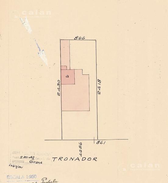 Foto Terreno en Venta en  Saavedra ,  Capital Federal  Tronador al 4000, CABA