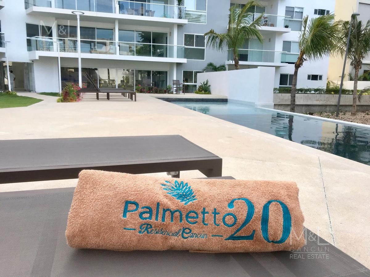 Foto Departamento en Venta en  Residencial Palmaris,  Cancún  Departamento en Venta en Cancún,  PALMETTO 20, Penthouse con Roof Garden 3 recámaras,  Palmaris