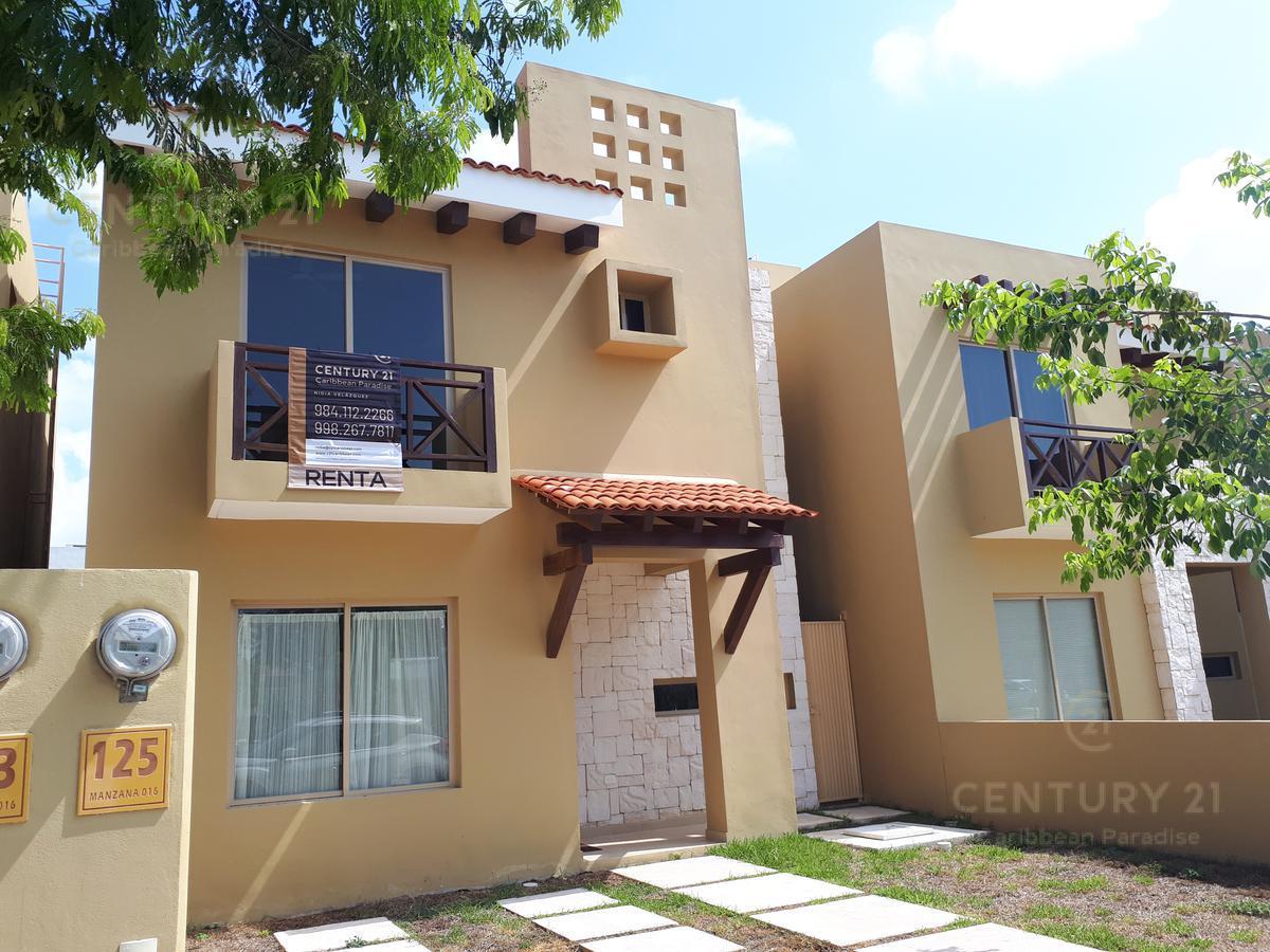 Foto Casa en Renta en  Playa del Carmen,  Solidaridad  SE RENTA CASA EN ALLEGRANZA PLAYA DEL CARMEN C2553