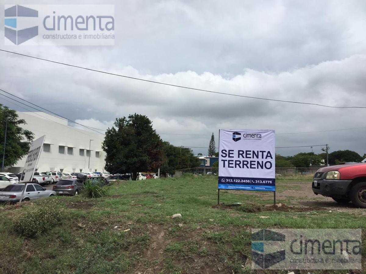 Foto Terreno en Renta |  en  Girasoles,  Colima  SE RENTA TERRENO COMERCIAL EN AV IGNACIO SANDOVAL, ZONA NORTE.