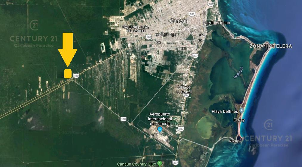Cancún Terreno for Venta scene image 7