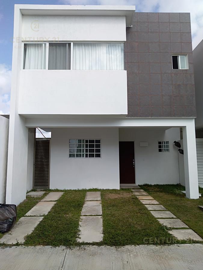 Foto Casa en Renta en  Playa del Carmen ,  Quintana Roo  Casa amueblada 2 pisos,3 hab, 2.5 baños zona residencial playa del carmen P2774
