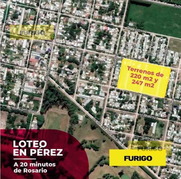 Foto Terreno en Venta en  Perez ,  Santa Fe  Morelli entre San Luis y Uspallata - Lotes 46 y 47