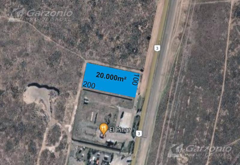 Foto Terreno en Venta en  Trelew ,  Chubut  Lote 100x200 sobre Ruta 3