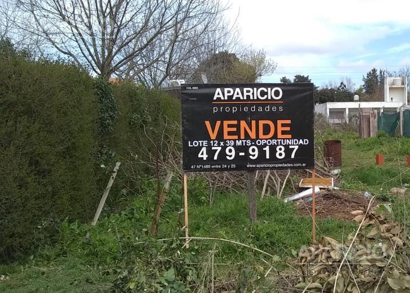 Foto Terreno en Venta en  La Plata ,  G.B.A. Zona Sur  29 entre 447 y 448
