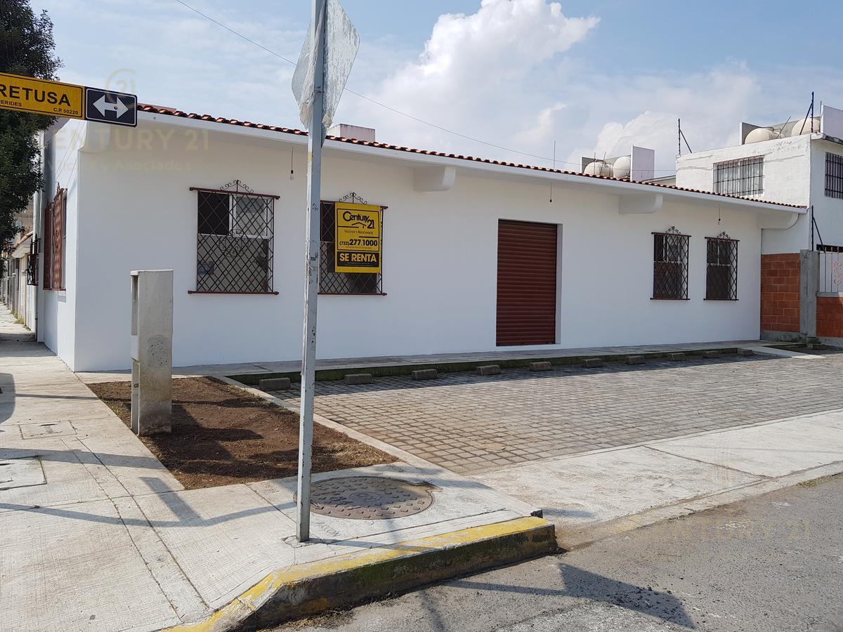 Foto Local en Renta en  San Mateo Otzacatipan,  Toluca         LOCAL EN RENTA EN LAS HESPERIDES CALLE ALETUSA ESQ. EVITIA