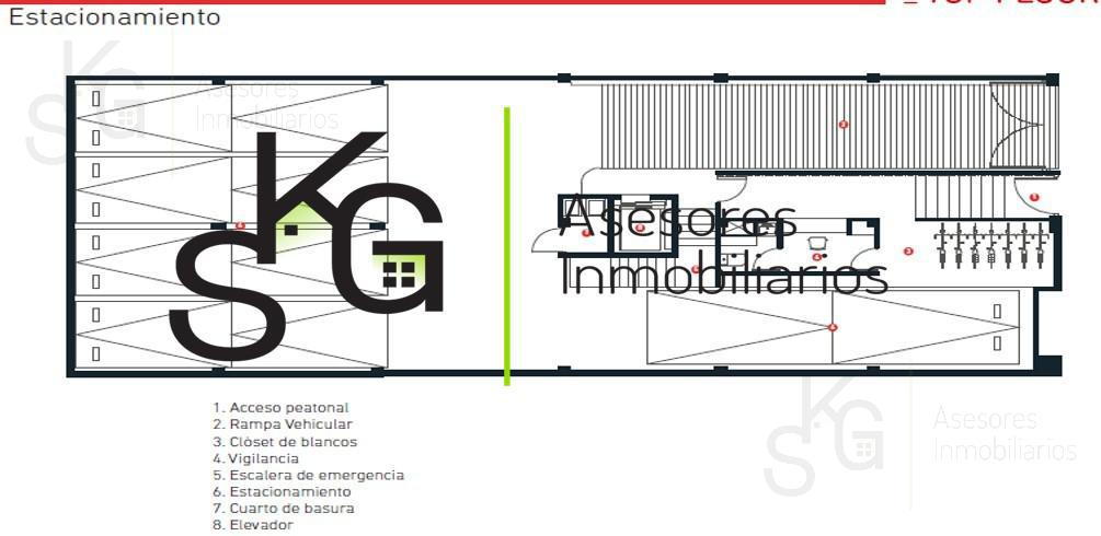 Foto Departamento en Venta en  Condesa,  Cuauhtémoc  SKG Asesores Inmobiliarios vende Departamento nuevo en Condesa