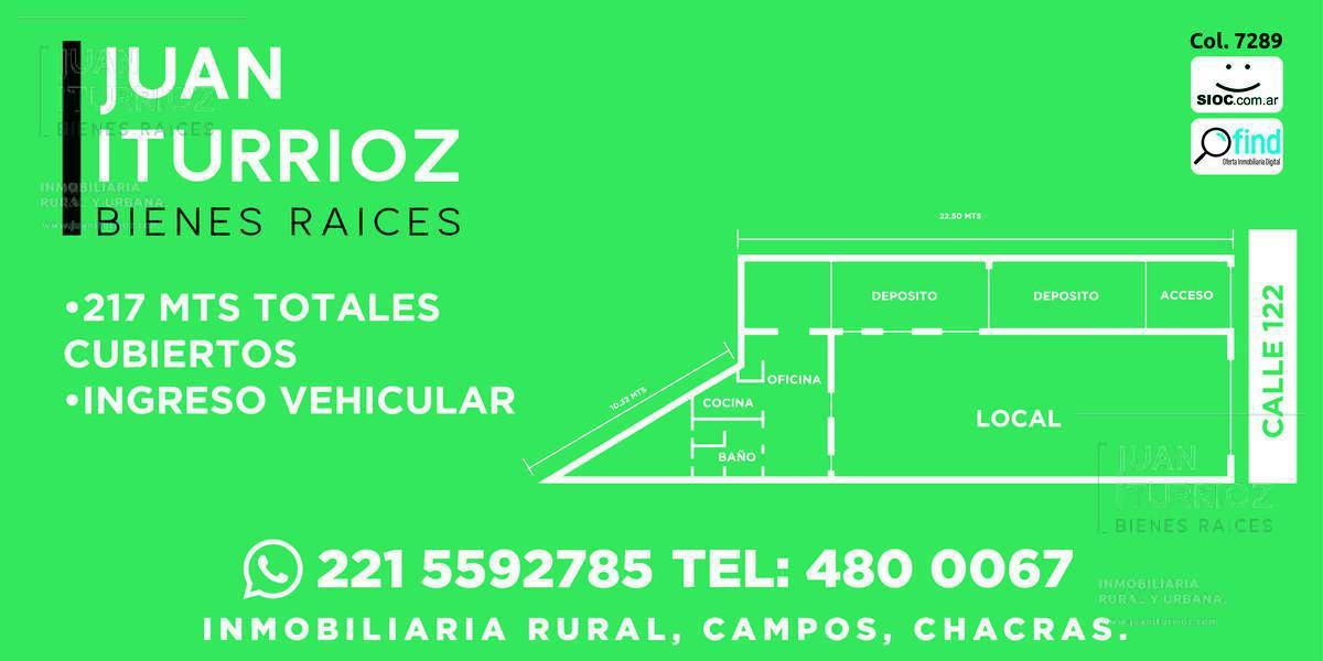 Foto Local en Alquiler en  La Plata ,  G.B.A. Zona Sur  122 y 48 - La Plata