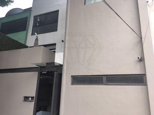 Foto Casa en Venta | Renta en  Anzures,  Miguel Hidalgo  Anzures, calle Rousseau, casa con uso de suelo en venta o renta (GR)