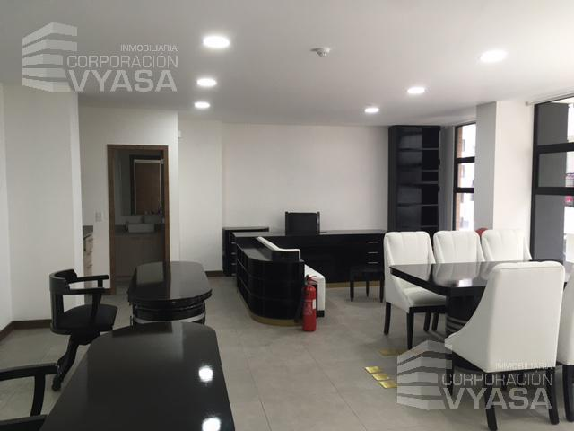 Foto Oficina en Alquiler en  Centro Norte,  Quito  CAROLINA - PORTUGAL -  CATALINA ALDAZ, OFICINA DE 60,00 M2