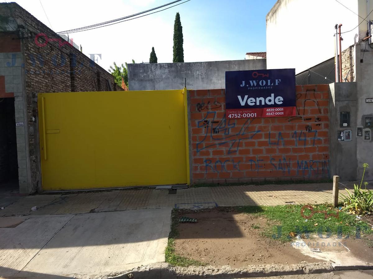 Foto Terreno en Venta en  S.Martin(Ctro),  General San Martin  Presidente Peron Nº al 4100
