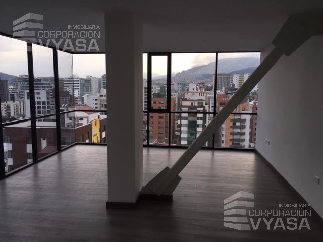 Foto Oficina en Alquiler en  La Carolina,  Quito  CAROLINA - AV. DE LOS SHYRIS OFICINA EN ARRIENDO DE 55,00 M2